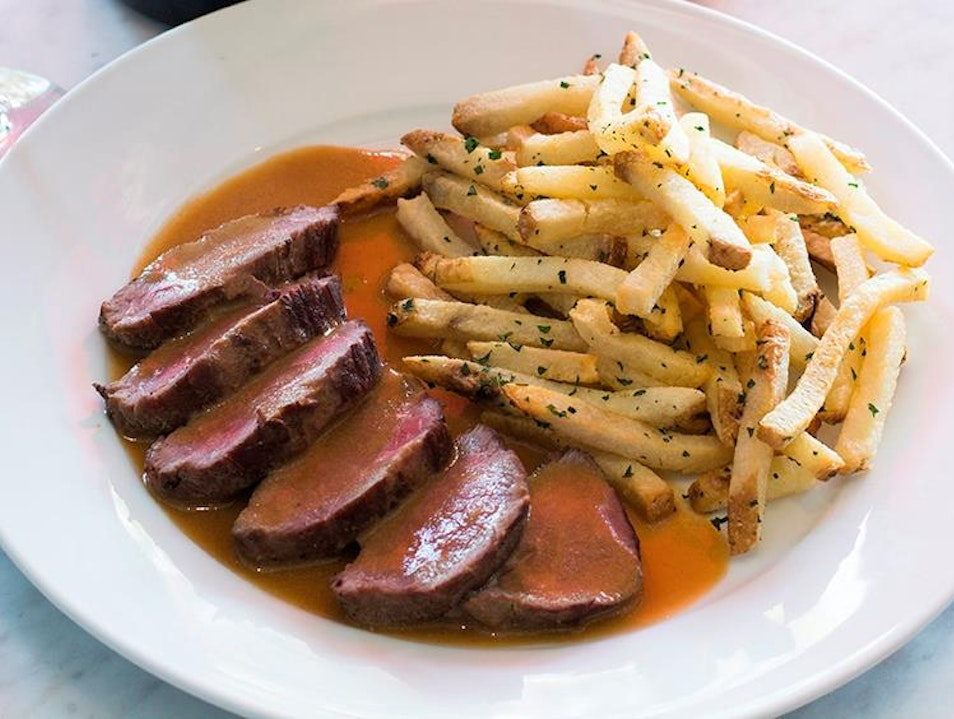 Make An Occasion Out Of Lunch At L'Assiette Steak Frites Los Angeles California United States