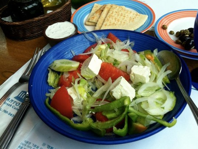 Get Me to the Greek: Santorini Restaurant