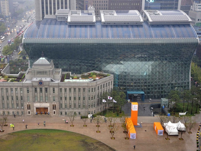 Modern Marvel: Seoul City Hall
