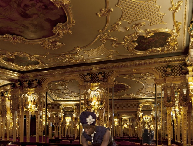 Modern Gilt at London's Café Royal