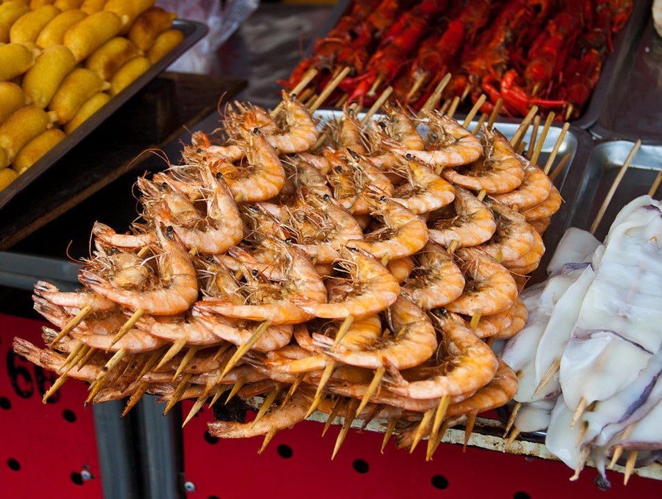 Scorpions and Steamed Buns on Wangfujing Snack Street Beijing  China