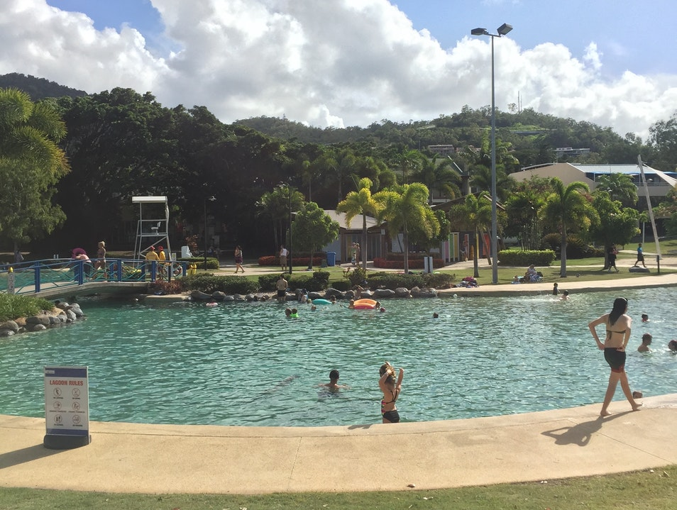 Perfect Spot to Cool Off Airlie Beach  Australia