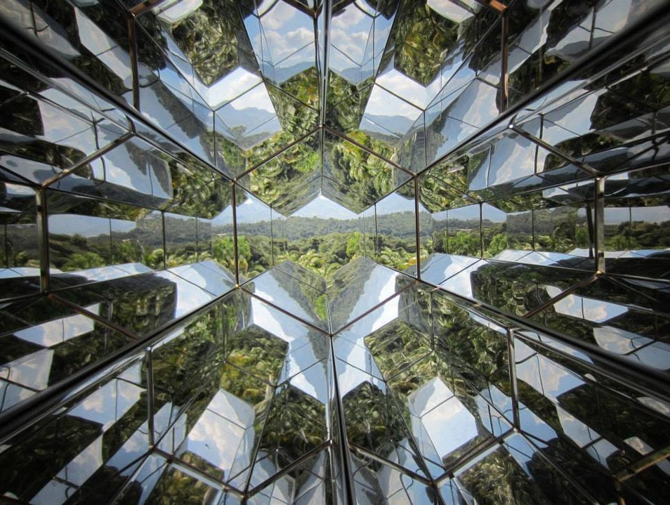 Olafur Eliasson's Natural World Kaleidoscope at Inhotim Brumadinho  Brazil