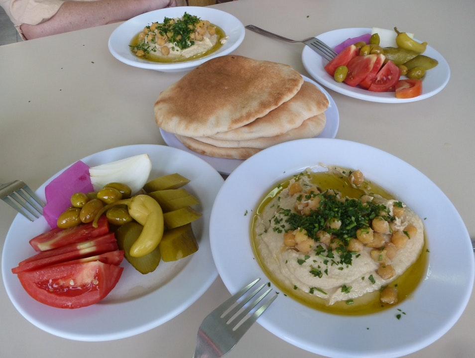 The Great Akko Hummus Wars Acre  Israel