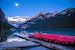 Sunrise Canoe Trip on Lake Louise Lake Louise  Canada