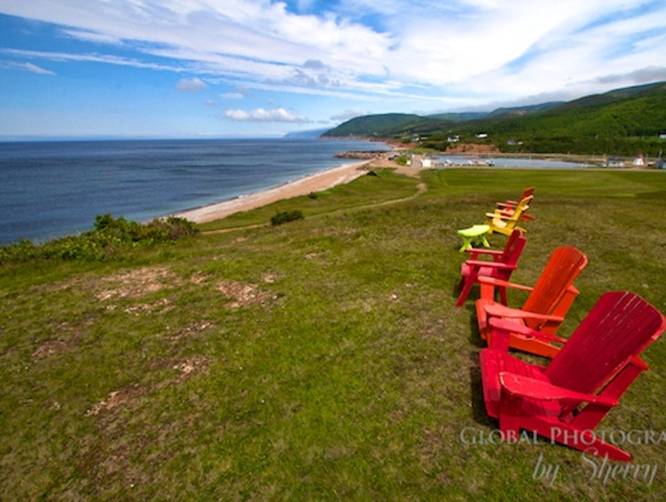 Have a Seat and Enjoy the View Pleasant Bay  Canada