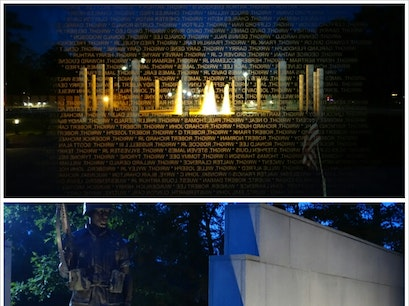 Beirut and Vietnam War Memorial Jacksonville North Carolina United States