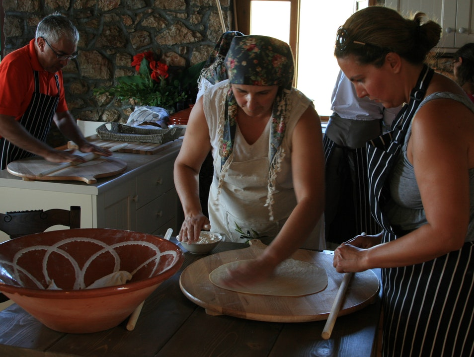 Authentic Messenian Cooking Pilos  Greece