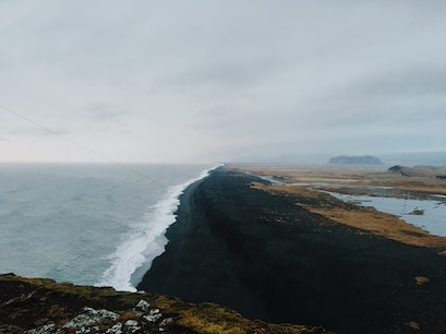 Black Sand Beaches Southern Region  Iceland