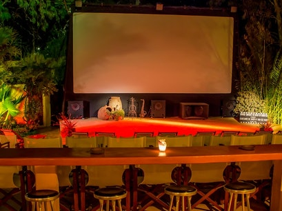 Open Air Cinema Kamari Thira  Greece