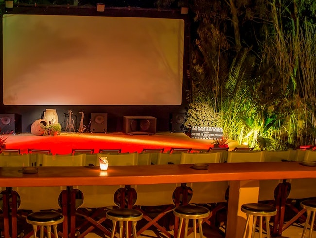 An Outdoor Cinema for Those Warm Mediterranean Nights