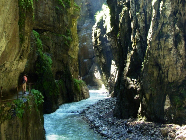 Hike the Partnachklamm (Partnach Gorge)