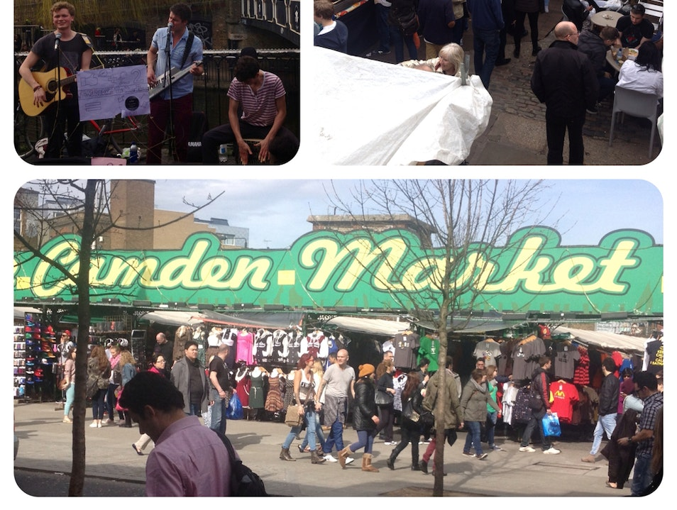 Camden Market - Eclectic Sprawling Market   London  United Kingdom