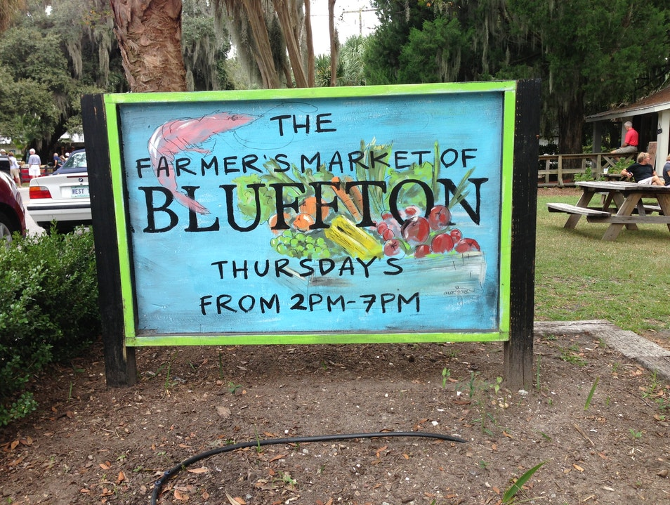 Old Town Bluffton's farm raised goodies Bluffton South Carolina United States