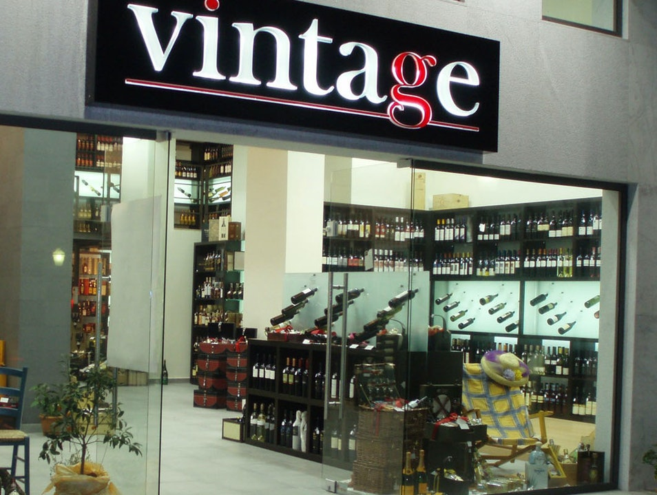 Vintage Wine & Spirits Rhodes  Greece