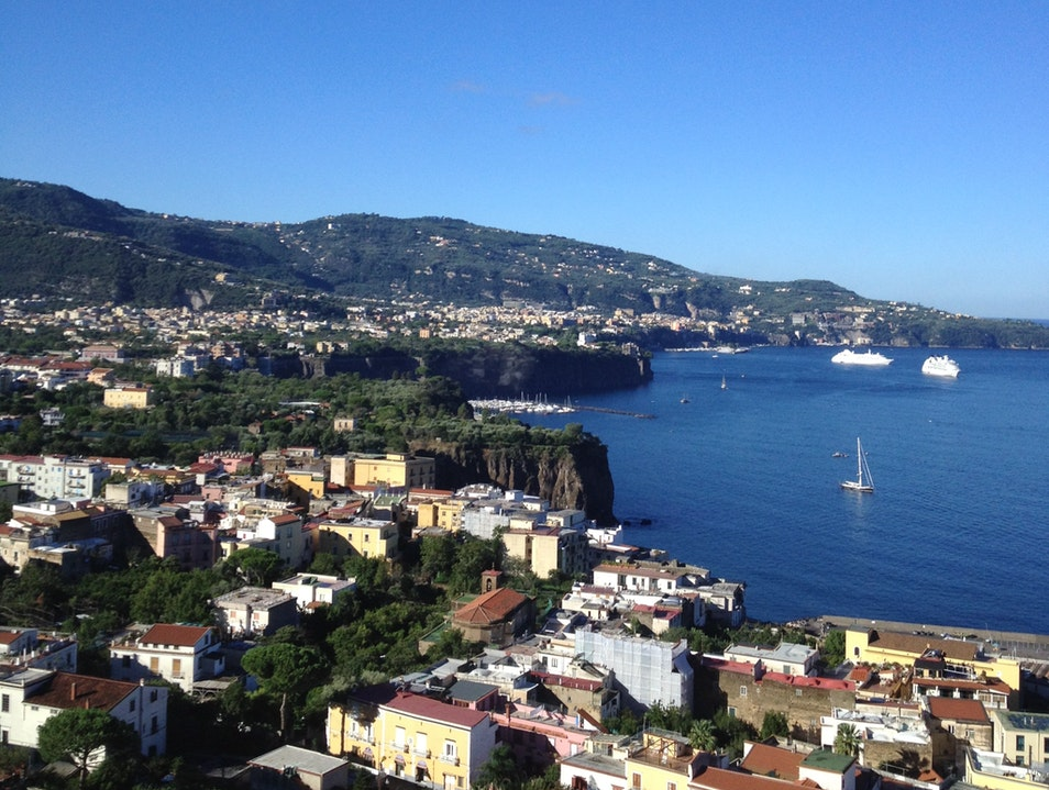 Take in the coast on the Bay of Naples Sorrento  Italy