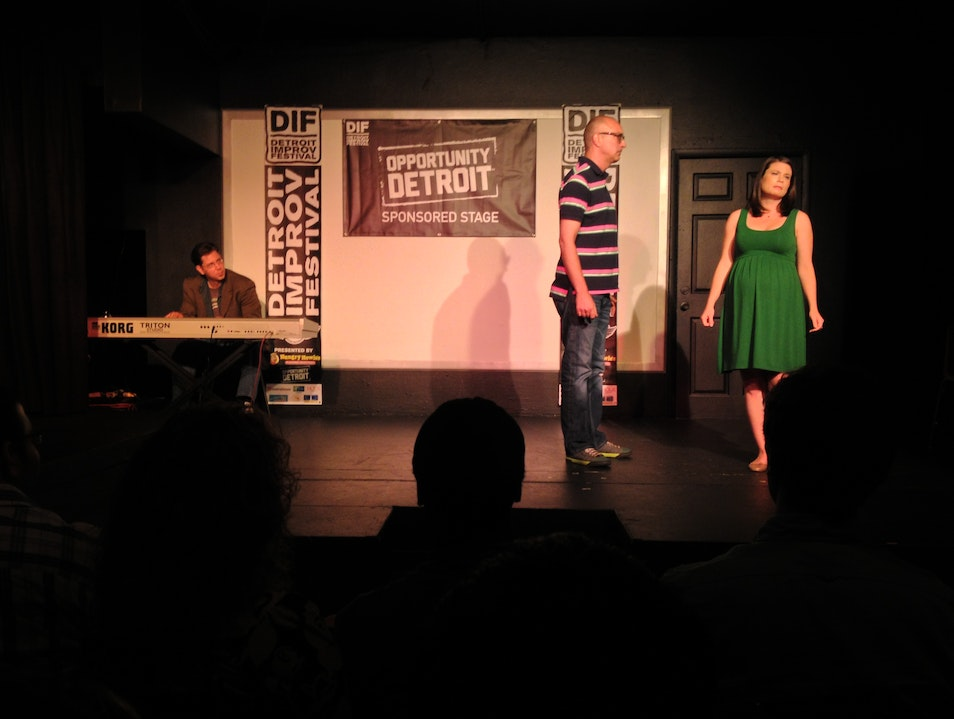 Laugh Out Loud at the Detroit Improv Festival