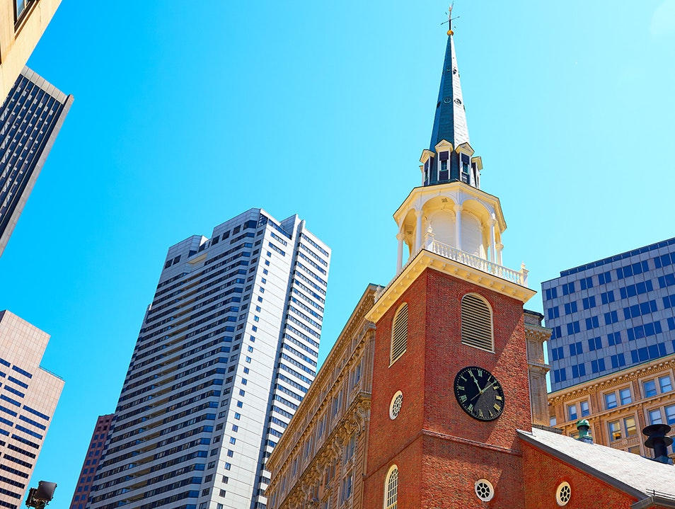 Old South Meeting House Boston Massachusetts United States