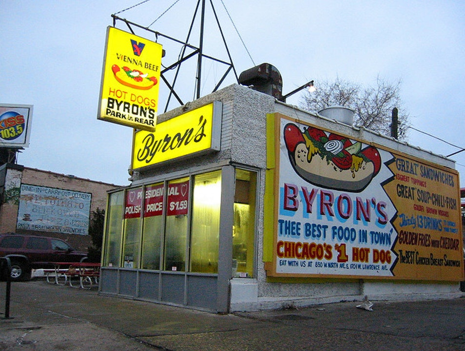 Byron's Hot Dogs Chicago Illinois United States