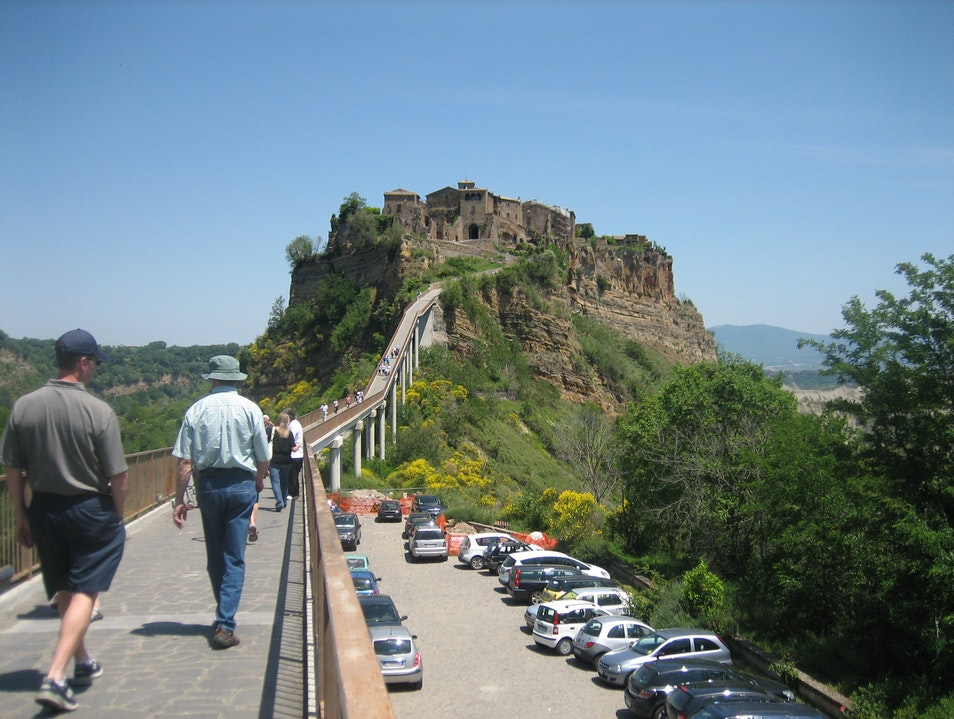 The 'dying city' Bagnoregio  Italy
