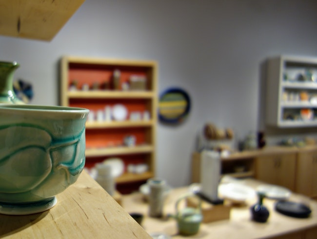 Affordable art at the Clay Studio