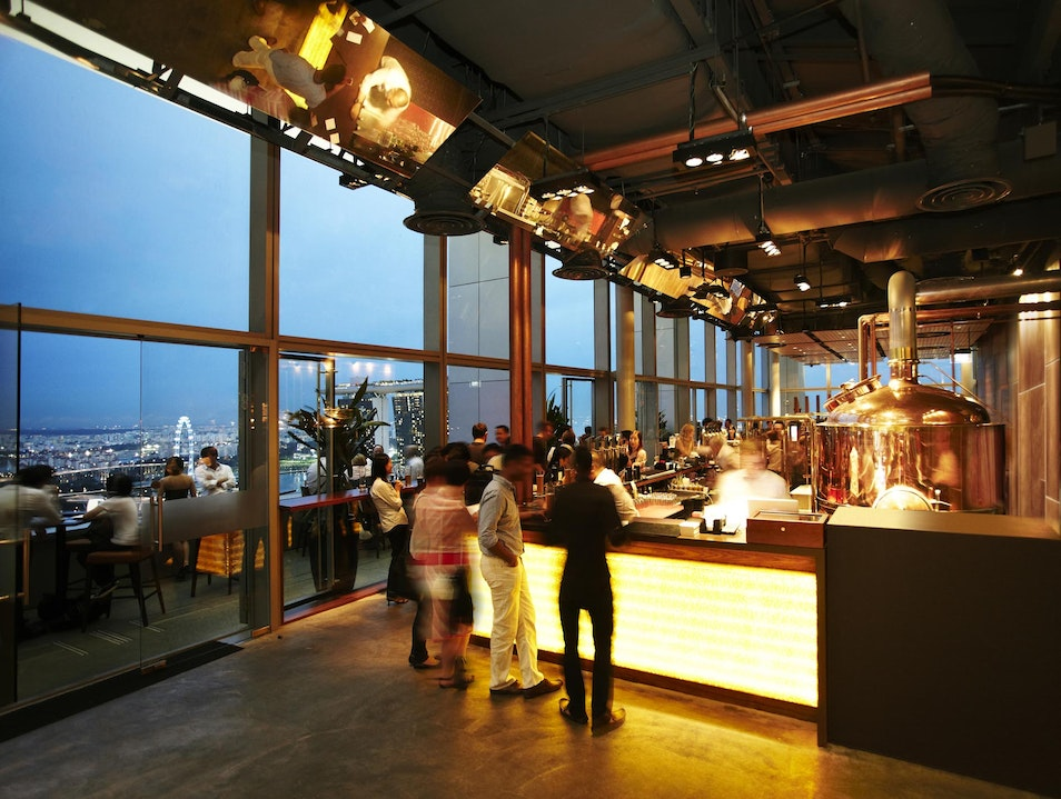 Craft beer goes sky-high Singapore  Singapore