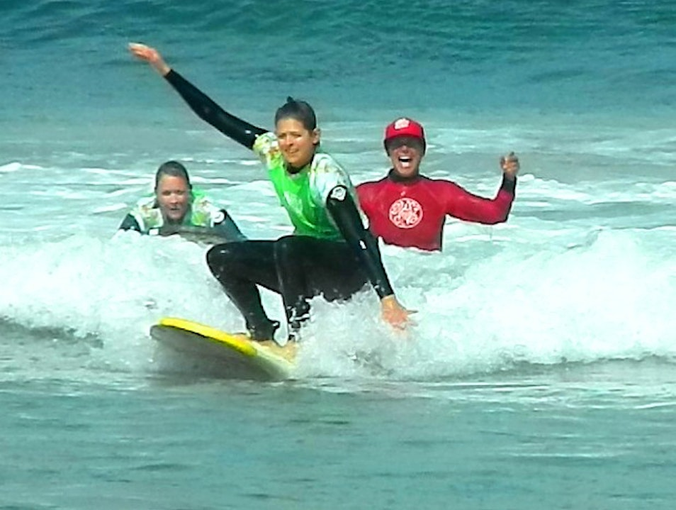 Take a surfing lesson in San Diego