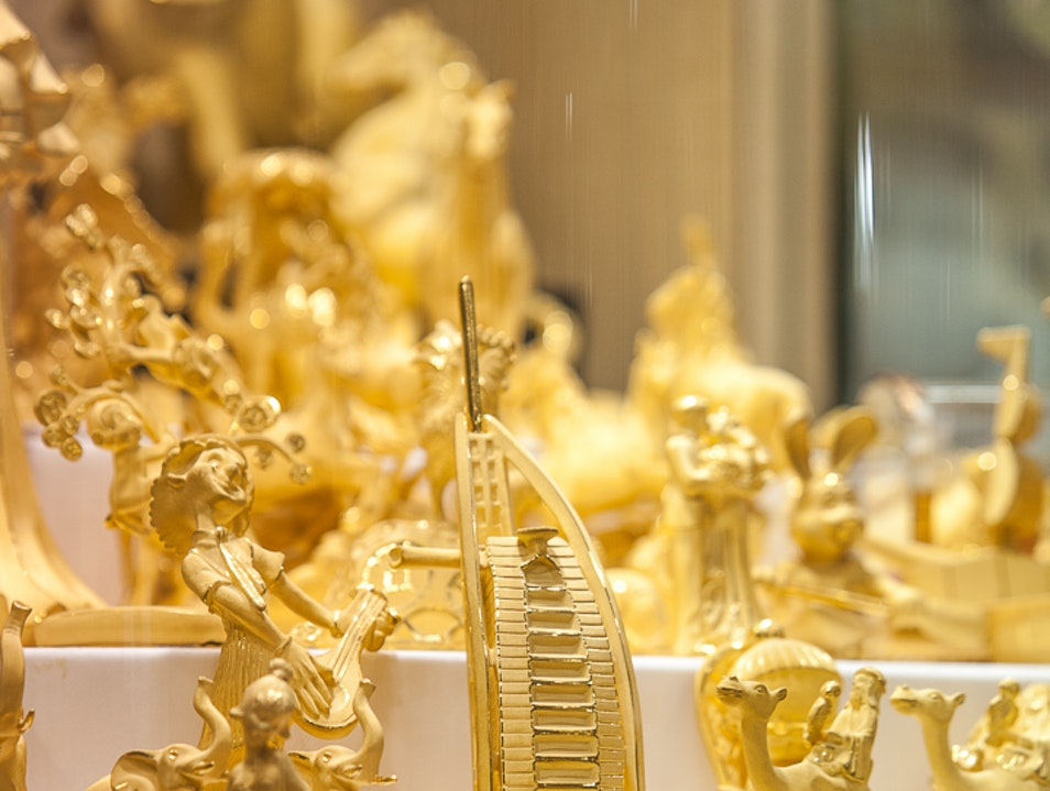 In Dubai, All That Glitters IS, in fact, Gold