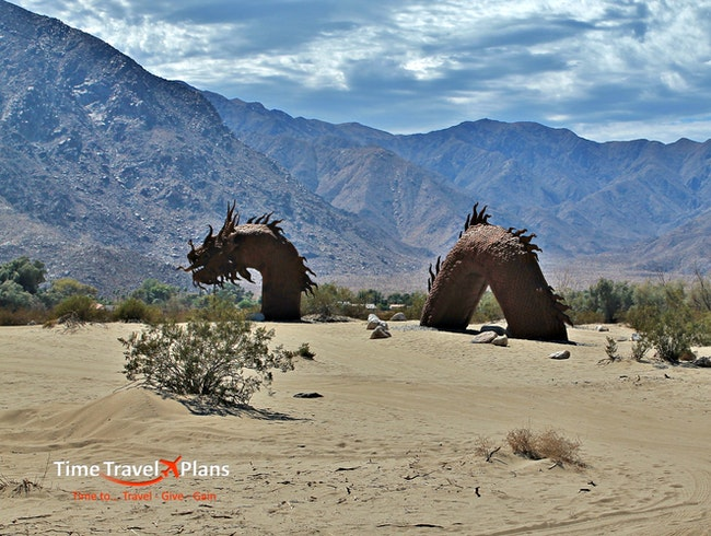 Desert Sculptures in Borrego Springs