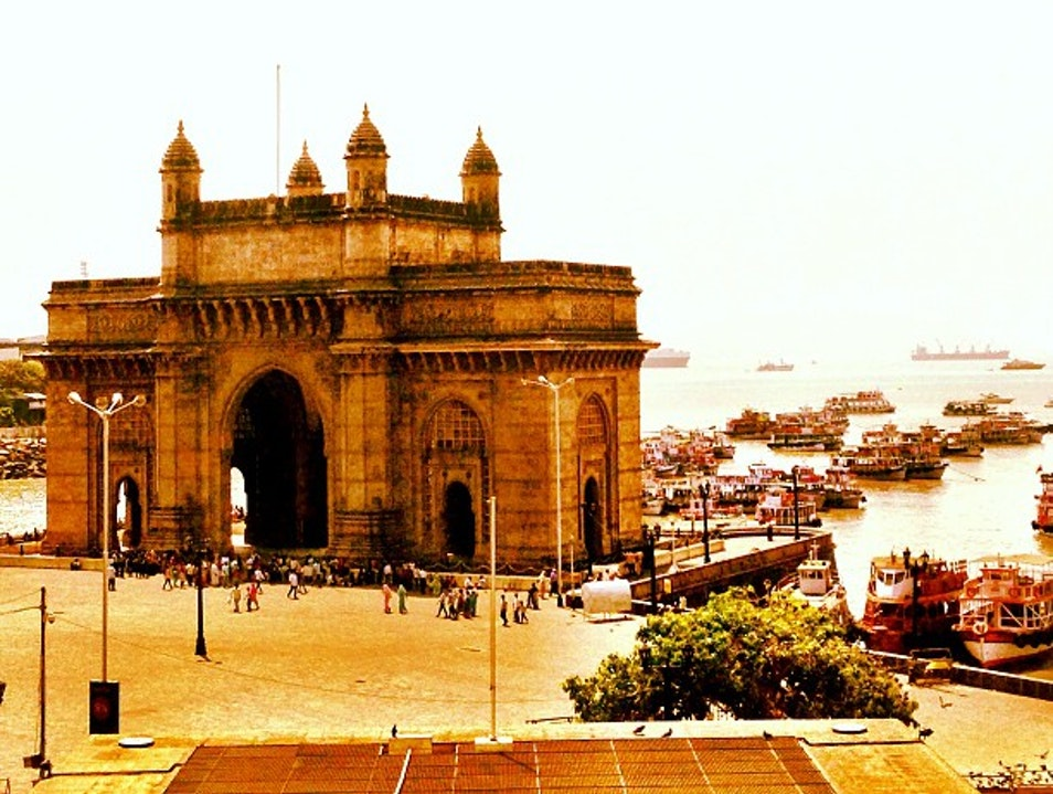 Gateway of India viewed from the Taj Palace Hotel Mumbai  India