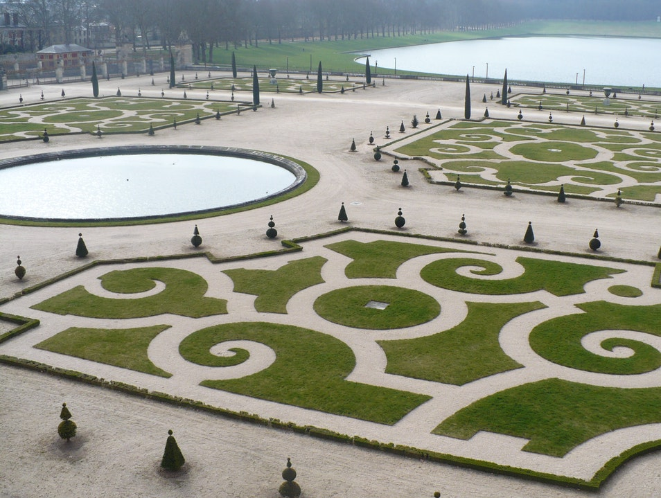 Gardens Fit for a Queen Versailles  France