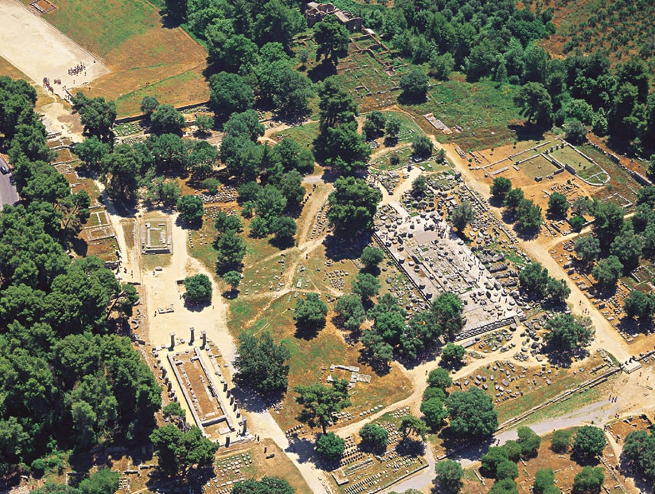Exploring Ancient Olympia  Archea Olimpia  Greece