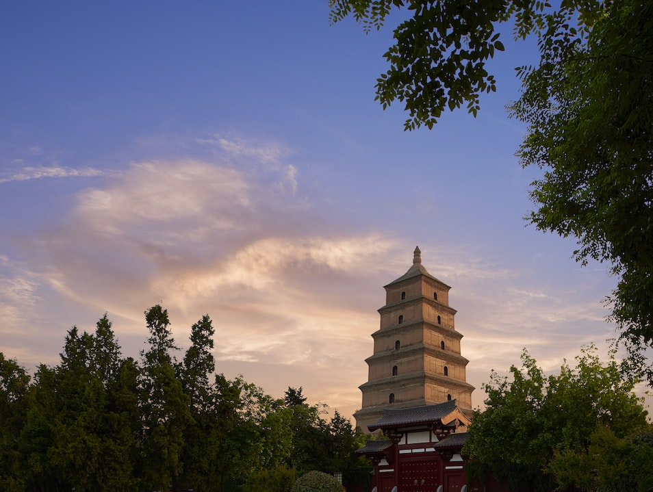 Wild Goose Pagoda Xi'an  China