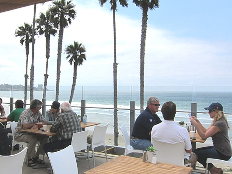 Lunch Overlooking La Jolla Shores Beach San Diego California United States