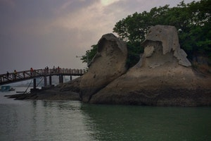Gatbawi Rocks, coast along Mokpo