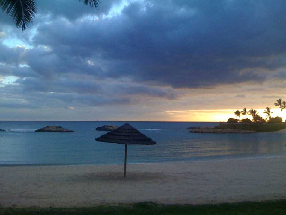 Ko Olina Sunset Kapolei Hawaii United States