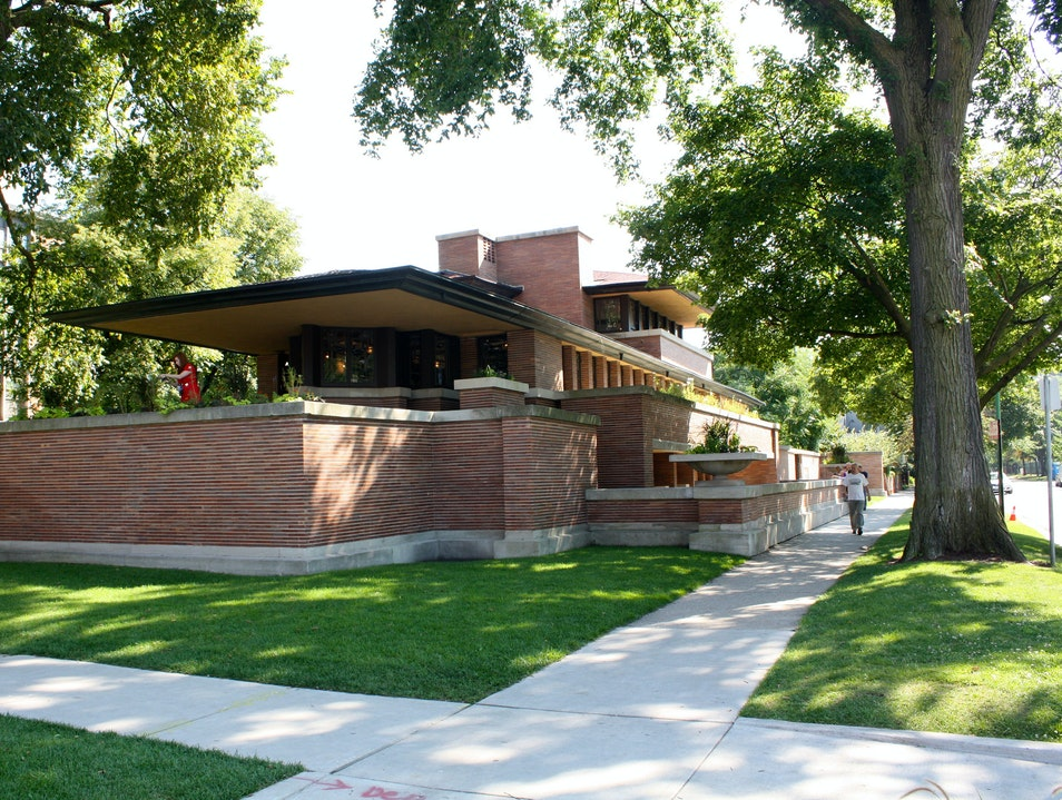 Frank LLoyd Wright Museum Oak Park Illinois United States