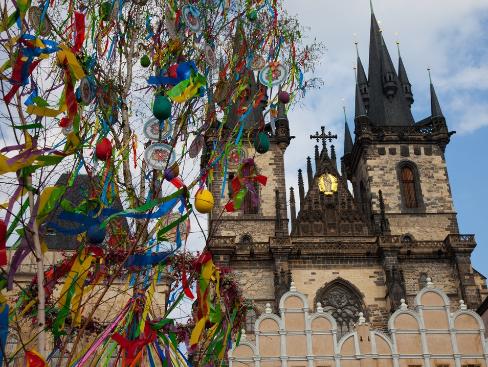 Celebrating Spring in Prague's Easter Markets Prague  Czechia