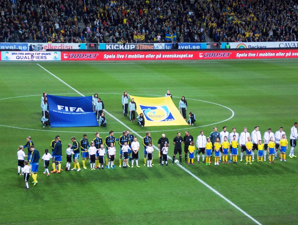 Sweden hosts Germany Solna  Sweden