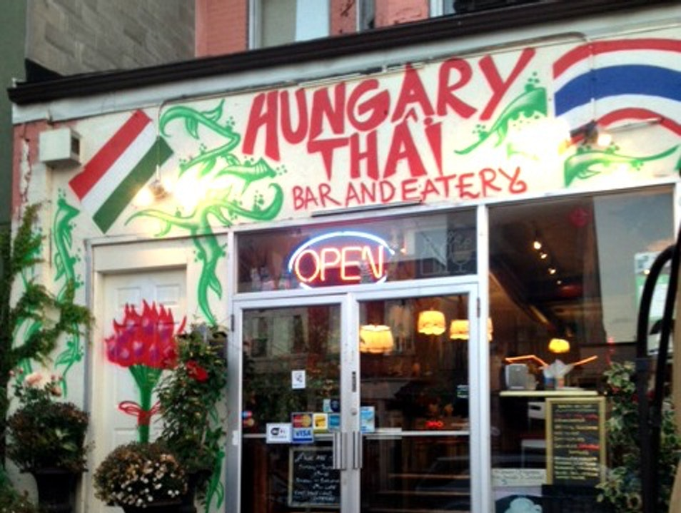 Only in Toronto: A Hungarian and Thai Restaurant  Toronto  Canada