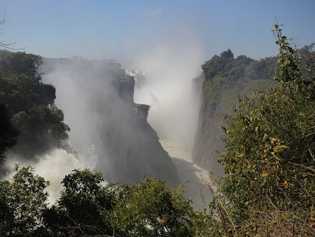 Victoria Falls from the Zimbabwean Side