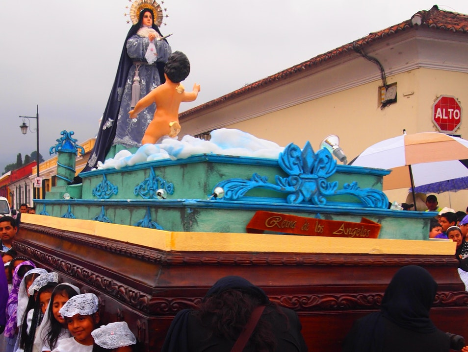 Semana Santa Parade in Antigua