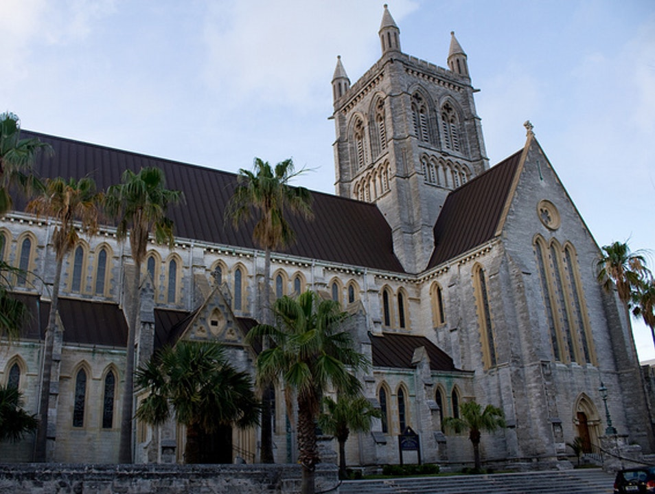 Tropical Traditions at the Cathedral of the Most Holy Trinity Pembroke  Bermuda