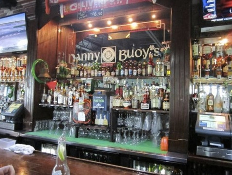 Late Night Watering Hole: Danny Bouys  Grace Bay  Turks and Caicos Islands