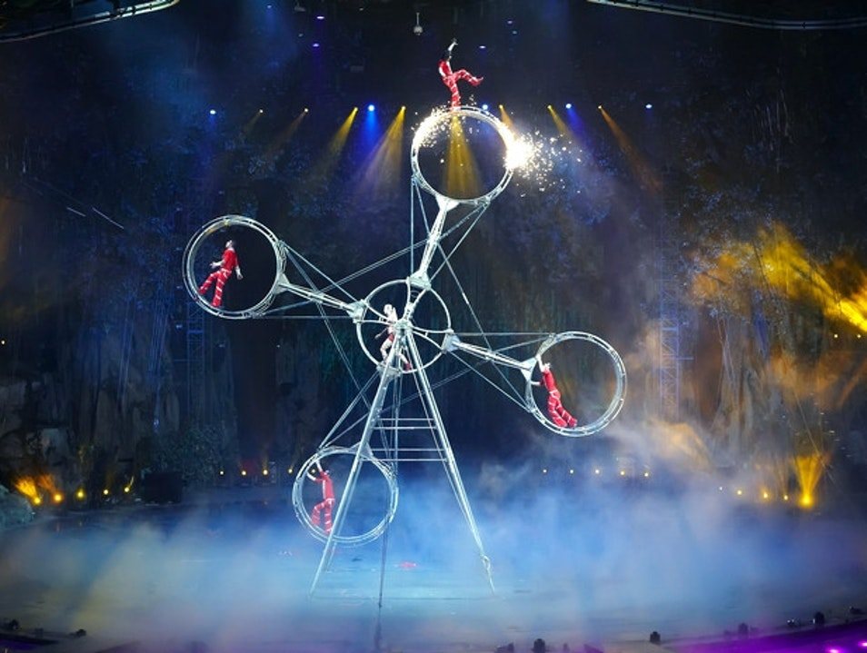 Go Under the Big Top for Some Well-Executed Circus Hijinks Guangzhou  China
