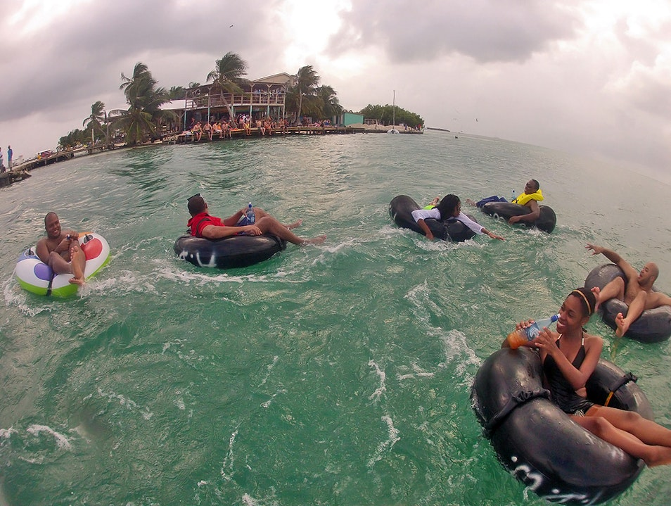 Drift Away Under the Sun and Go Island Tubing Belize  Belize