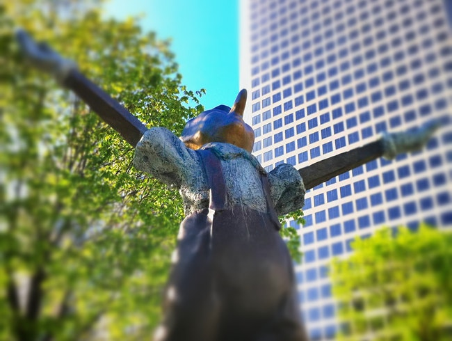 Unlikely Art: Pinocchio in Downtown St. Louis