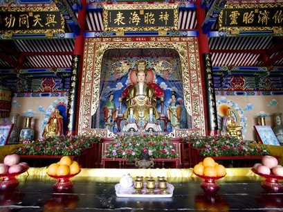 Tian Hou Temple  Shenzhen  China