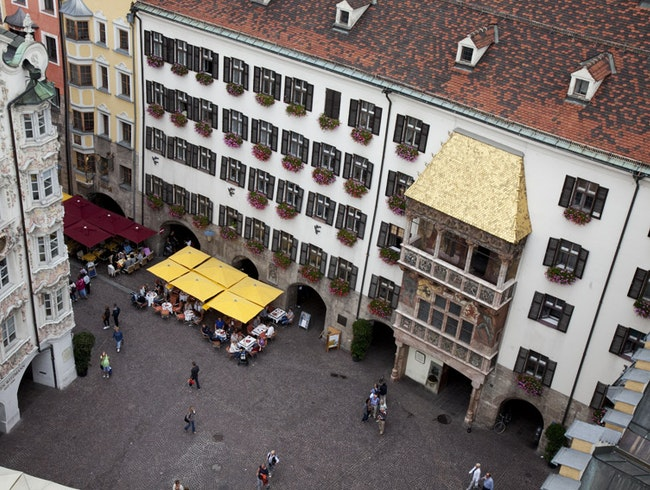 Innsbruck's Golden Roof