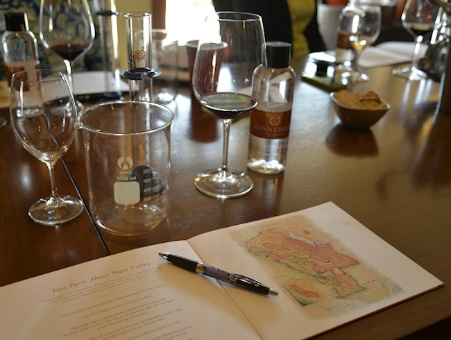 Conn Creek Winery Offers Exceptional Barrel Blending Experience
